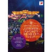 Vídeňští filharmonici, Christoph Eschenbach - Koncert letní noci 2017 (DVD, 2017)