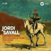 Jordi Savall - Espana Eterna (11CD BOX, 2018)