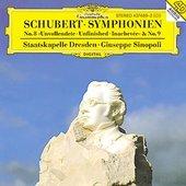 Schubert, Franz - SCHUBERT Symphonien Nos. 8 + 9 Sinopoli