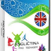 Interaktivní učebnice - Angličtina pro teenagery (2x CD-ROM) DVD obal
