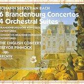 Bach, Johann Sebastian - BACH Brand. Konzerte/Ouvertüren Pinnock