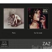 Zaz - Coffret 2CD: Paris & Sur La Route (2018)
