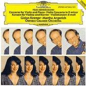 Mendelssohn Bartholdy, Felix - MENDELSSOHN Konz.f.Vl.u.Kl. Kremer Arg.