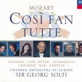 Mozart, Wolfgang Amadeus - Mozart Così fan tutte Fleming/Von Otter/Scarabelli