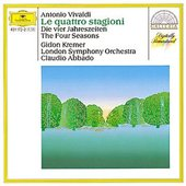 Vivaldi, Antonio - VIVALDI The Four Seasons / Kremer, Abbado