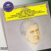 Berg, Alban - BERG Lulu-Suite, 3  Pieces for Orchestra / Abbado