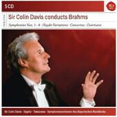 Johannes Brahms - Sir Colin Davis Conducts Brahms (4CD BOX 2018)