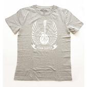 Adam Ďurica - Mandolina logo, Men, Grey, Vel. M