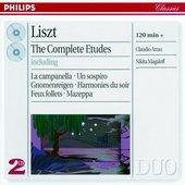 Liszt, Franz - Liszt The Complete Études Claudio Arrau