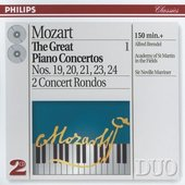 Mozart, Wolfgang Amadeus - Mozart The Great Piano Concertos Alfred Brendel