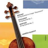 Janáček Quartet - Mozart / Schulhoff / Martinů (2011)