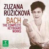Johann Sebastian Bach / Zuzana Růžičková - Bach: Kompletní Dílo - Cembalo/Complete Keyboard Works (BOX, 2016)