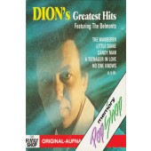 Dion Featuring The Belmonts - Dion's Greatest Hits (Kazeta, 1989)