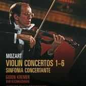Mozart, Wolfgang Amadeus - MOZART 5 Violin Concertos Kremer DVD-VID