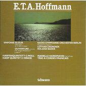 """E.T.A. Hoffmann - Sinfonie Es-Dur - Ouverture Zu """"Die Lustigen Musikanten"""" / """"Undine"""" - Harfenquintett C-Moll (1987)"""