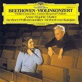 Beethoven, Ludwig van - BEETHOVEN Violinkonzert Mutter Karajan