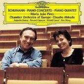 Schumann, Robert - SCHUMANN Piano Concerto / Pires, Abbado