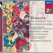 Riccardo Chailly - Mahler Das klagende Lied Dunn/Fassbaender/Baur