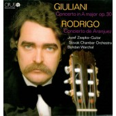 Mauro G. Giuliani, Joaquín Rodrigo - Giulani: Concerto In A Major, Op. 30 / Rodrigo: Concierto De Aranjuez (1988)