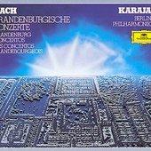 Berlínští filharmonici - Braniborské koncerty /Karajan