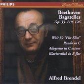 Beethoven, Ludwig van - Beethoven Bagatelles Alfred Brendel