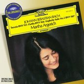 Martha Argerich - BACH Toccata, Partita, 2. English Suite / Argerich
