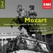 Daniel Barenboim - Mozart: Symphonies 32, 35 'Haffner', 36 'Linz', 40 & 41 'Jupiter'