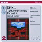 Bruch, Max - Bruch The Complete Violin Concertos Salvatore Acca