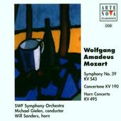 Wolfgang Amadeus Mozart / Michael Gielen - Symfonie Č. 39 / Concertone Pro 2 Housle A Orchestr / Koncert Pro Lesní Roh