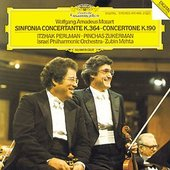 Mozart, Wolfgang Amadeus - MOZART Sinfonia conc. Perlman Zukerman