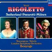 Verdi, Giuseppe - Verdi Rigoletto Sutherland/Pavarotti/Milnes/Talvel