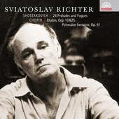 Chopin/Šostakovič/Richter - 24 preludií a fug/Etudy/Polonéza - fantazie