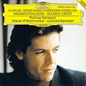 Leonard Bernstein - MAHLER Lieder / Hampson, Bernstein