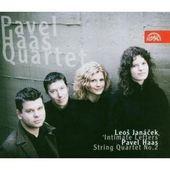 Pavel Haas Quartet - Smyčcový Kvartet Č. 2 - Listy Důvěrné / Smyčcový Kvartet č. 2 - Z Opičích Hor