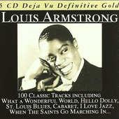 Louis Armstrong - 100 Classic Tracks: Deja Vu Definitive Gold/5CD DEJA VU