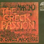 Bohuslav Martinů - Řecké Pašije /Greek Passion /2CD