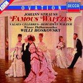 Willi Boskovsky - Johann Strauss Famous Waltzes Boskovsky