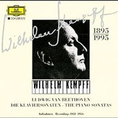 Beethoven, Ludwig van - BEETHOVEN Klaviersonaten 1951-56 Kempff