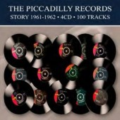Various Artists - Piccadilly Records Story 1961-1962 (4CD BOX, 2018)