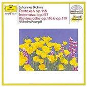 Brahms, Johannes - BRAHMS Klavierstücke Kempff