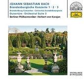 Berlínští filharmonici - Braniborské koncerty č.1-3 /Karajan