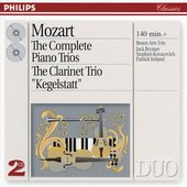Mozart, Wolfgang Amadeus - Mozart The Complete Piano Trios Beaux Arts Trio