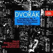 """Jiří Bělohlávek - Dvořák: Symf. Č.9 E Moll """"Z Nového Světa"""", Karneval, Symf. Variace"""