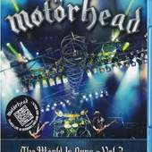 Motörhead - Wörld Is Ours - Vol. 2 (Anyplace Crazy As Anywhere Else) /Blu-ray, 2012