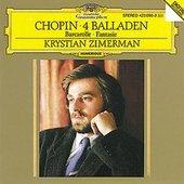 Chopin, Frédéric - CHOPIN Fantaisie, Barcarolle, Balladen / Zimerman