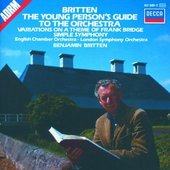 Britten, Benjamin - BRITTEN The young persons guide to the orchestra