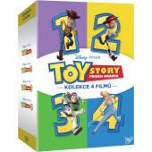 Film/Animovaný - Toy Story: Příběh hraček kolekce 1.-4. (4DVD)
