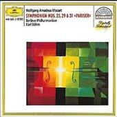 Mozart, Wolfgang Amadeus - MOZART Symphonies Nos. 25, 29, 31 / Böhm