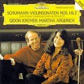 Schumann, Robert - SCHUMANN Violin Sonatas Nos. 1+2/Kremer,  Argerich