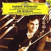 Previn, André - BARBER, KORNGOLD Violin Concertos / Shaham